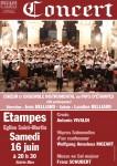 Etampes, concert, choeur, Belliard