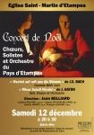 Choeur, Etampes, Jean Belliard, concert, noël